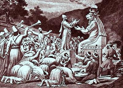 Risultati immagini per sacrifici umani bibbia